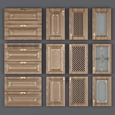 门板, 柜门, 抽屉门