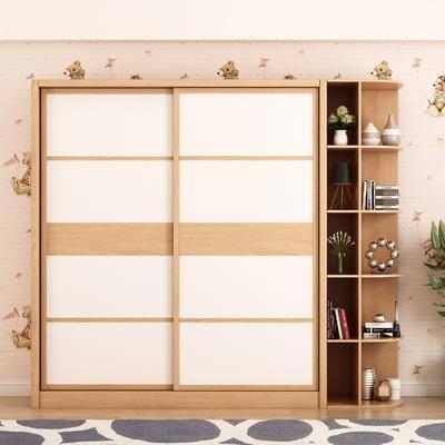衣柜, 现代衣柜, 现代实木衣柜