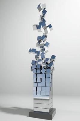 现代, 雕塑, 单体