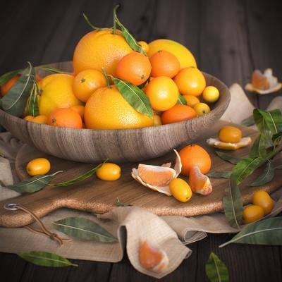 水果, 橘子, 橙子, 现代