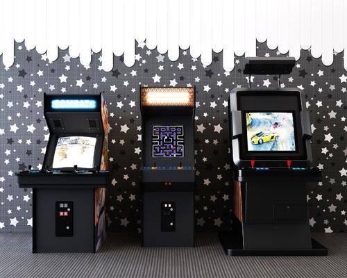 现代, 游戏机, 电玩设备