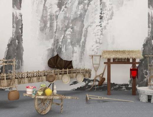 农村农具, 新中式