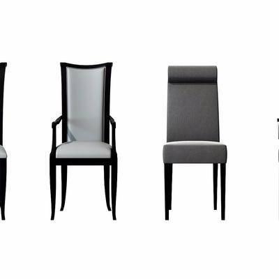 现代休闲椅组合, 现代, 休闲椅, 椅子, 单椅