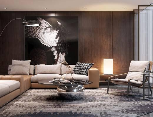 現代會客廳, 沙發組合