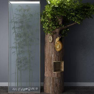 竹子, 植物, 树木
