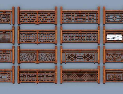 中式护栏, 护栏, 栏杆
