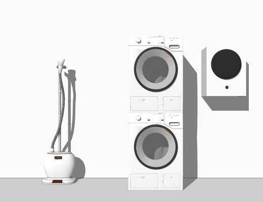 洗衣机, 烘干机, 电器
