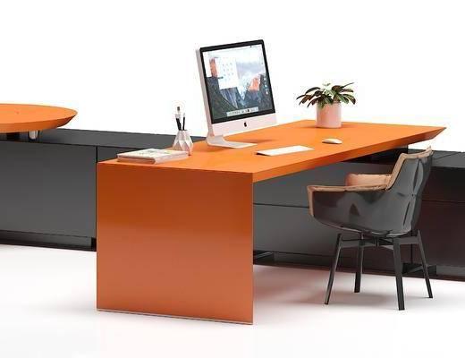 现代办公桌, 办公桌, 办公桌椅