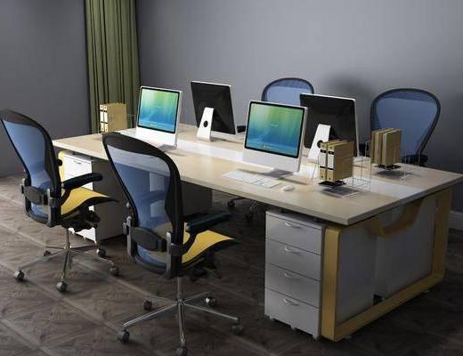 現代辦公桌, 辦公桌, 桌椅組合