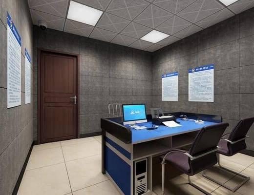 现代审讯室, 询问室, 审讯室