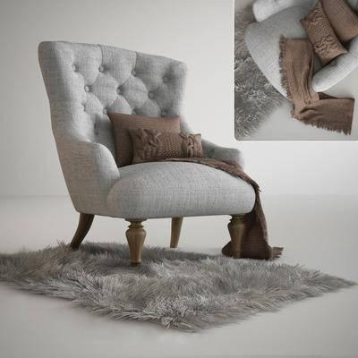 沙发, 地毯, 沙发椅, 布艺沙发, 现代