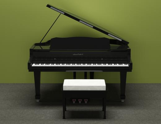 现代钢琴, 凳子