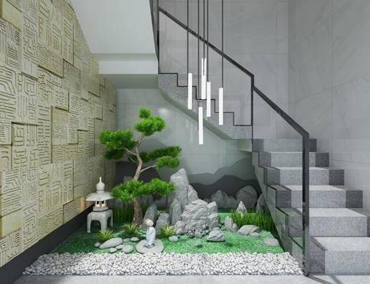 楼梯, 景观小品