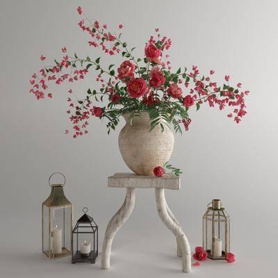 花卉, 花瓶, 植物