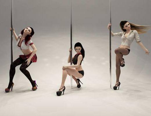 美女, 女人, 钢管, 现代