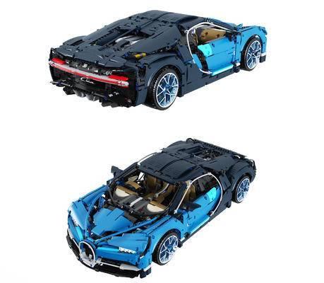 乐高布加迪汽车玩具