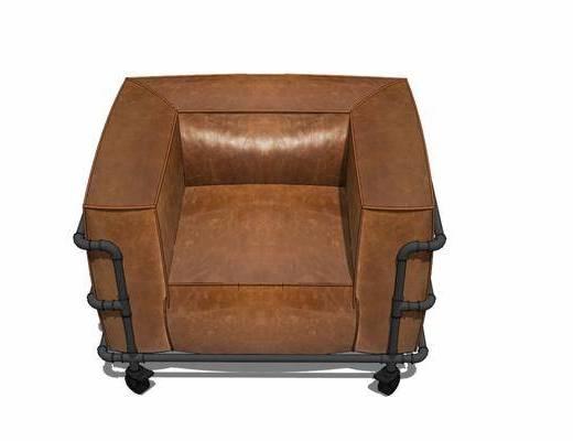 单人沙发, 休闲椅, 沙发椅