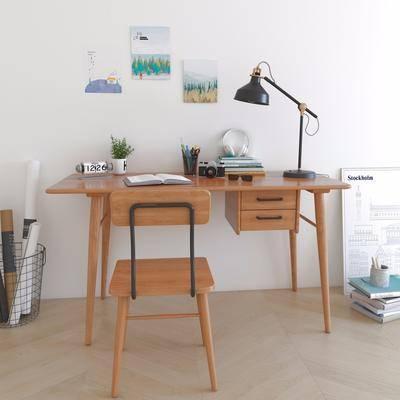 北歐書桌椅, 書桌椅
