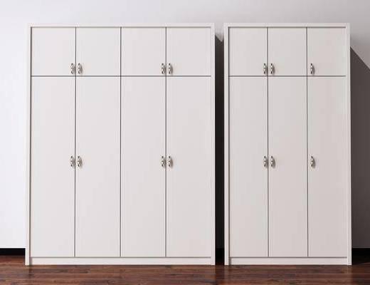 装饰柜, 衣柜, 现代
