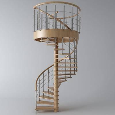旋轉樓梯, 樓梯