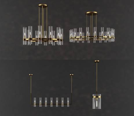 吊灯, 灯具, 现代, 法式