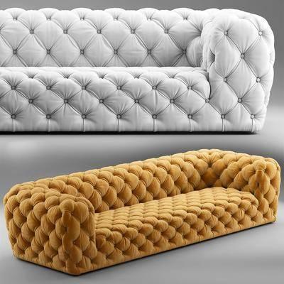 沙發, 多人沙發, 布藝沙發, 現代