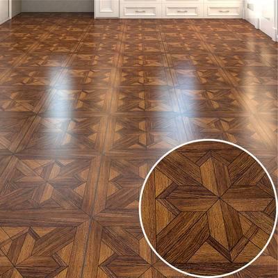 木地板, 高光木地板