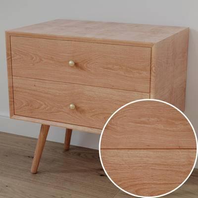 木纹材质, Vray材质