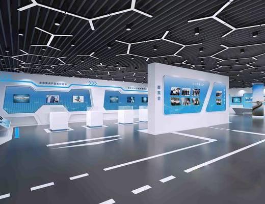 展厅, 展览, 墙饰