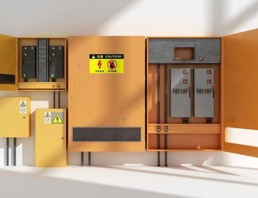 现代风格配电箱