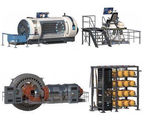 现代, CT机, 核磁共振机, 发电机