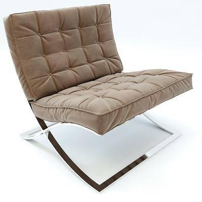 休闲椅, 单椅, 单人沙发, 现代