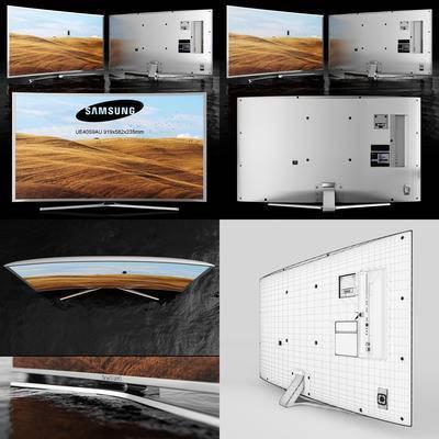 三星, 4K, 液晶电视机, 电视机, 电视, 现代