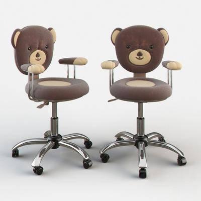 单椅, 现代椅, 儿童椅, 玩具椅, 现代