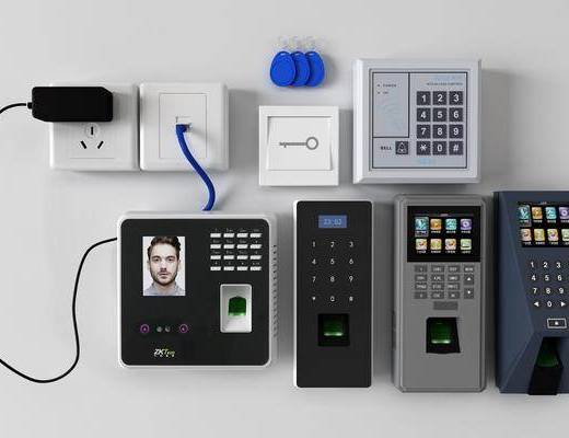 现代, 打卡机