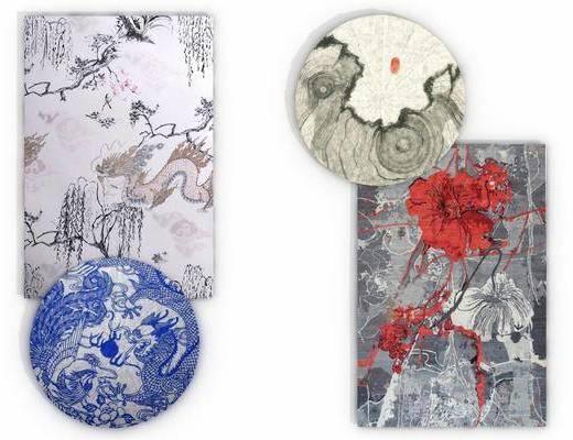 地毯, 新中式地毯