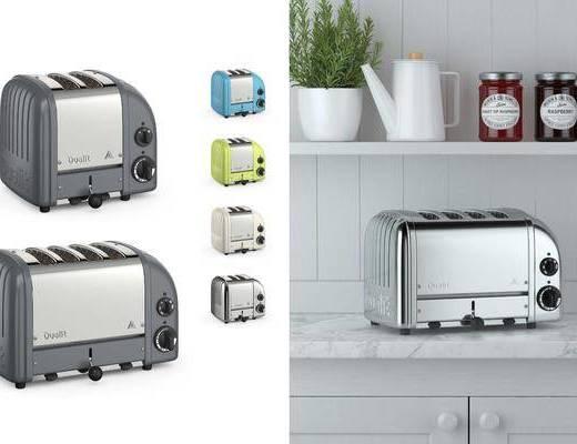 厨具, 面包机, 现代