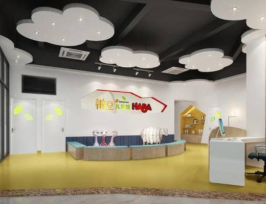 幼儿园, 儿童娱乐, 大厅