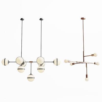 现代吊灯, 现代金属吊灯, 现代, 吊灯