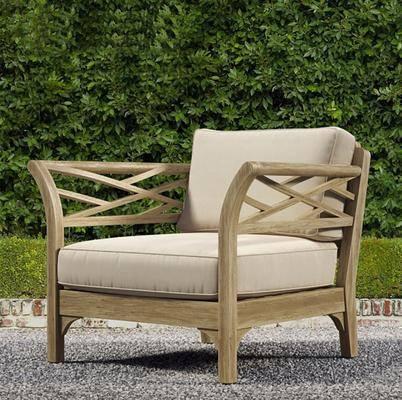 多人沙发, 单人沙发, 摆件, 盆栽绿植, 户外椅, 现代