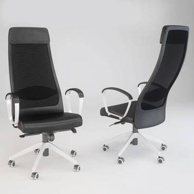 办公椅, 休闲椅, 单椅, 现代