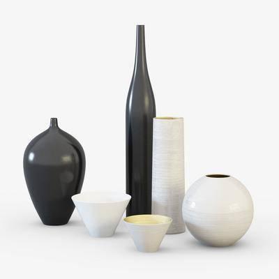 摆件, 陶瓷, 现代