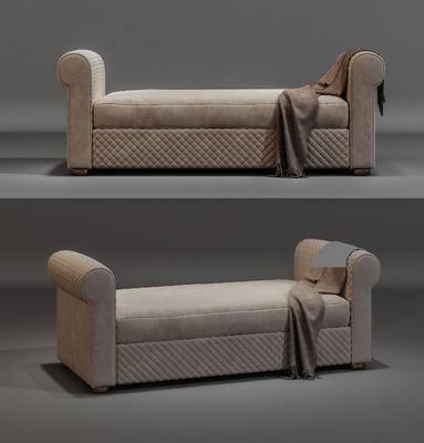 床尾凳, 沙發腳踏