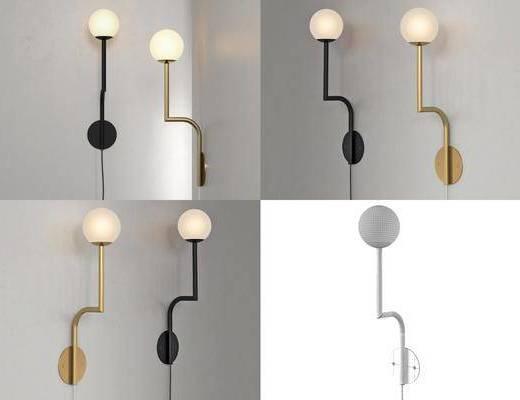 现代壁灯, 轻奢壁灯, 壁灯, 灯
