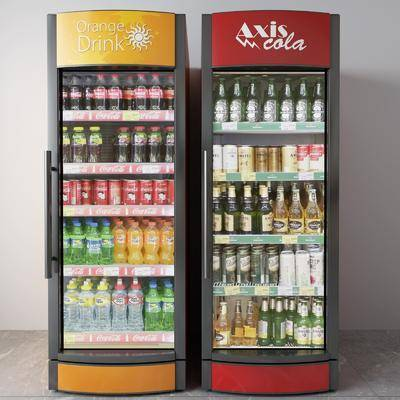 饮料机, 冰箱, 冰柜