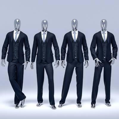 服装, 衣服, 男装, 模特, 现代服饰