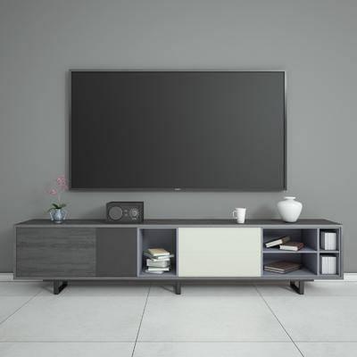电视柜, 现代, 北欧, 陈设品, 摆件