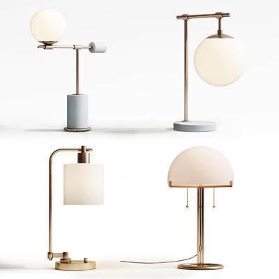 现代, 台灯, 现代风格台灯