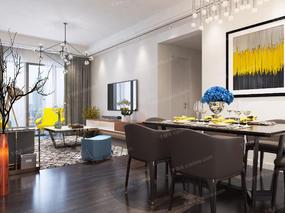 客厅, 餐厅, 沙发组合, 沙发茶几组合, 餐桌椅, 桌椅组合