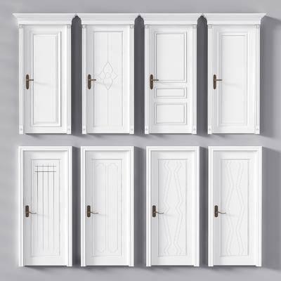单开门, 门, 简欧